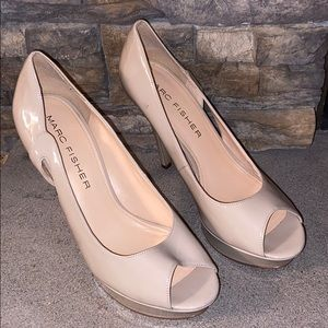 Marc Fisher Nude Pumps